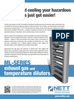 ML Series Diluters Gas Fume Diluters Brochure
