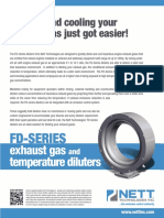 FD Series Gas Fume Diluter Brochure