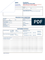 MeasurIT FCI Application Data Sheet Flow Switch 0903