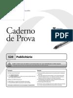 Prova UFFS - 2012 - Publicitário
