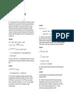 Soal Fisika Semester 4