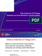 RHF 2015 Bengaluru - The Internet of Things