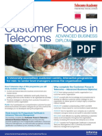 Customer Focus in Telecoms All 2015 Dates