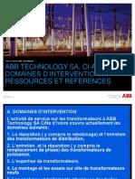 Présentation de l'actvité service sur lesTransformers de ABB.pdf