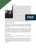 Biografía de Escritores Ecuatorianos