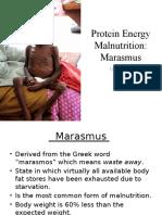 Clinical Marasmus