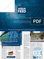 Alternative Lipid Sources in Aquafeeds