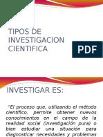 6 Tipos de Investigacion
