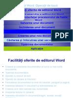 Editorul Word