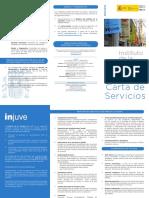 Carta de Servicios INJUVE 2016