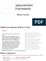metrics   alligned measurement framework
