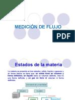 f.medición de Flujo