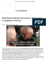 What Bernie Sanders Got Done in Washington_ a Legislative Inventory _ People's War