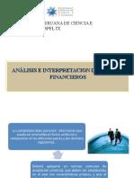 Análisis e Interpretacion de Estados Financieros