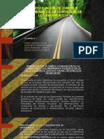expo de analisis de la via calle amapolas