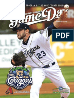 Cougars Gameday June-July