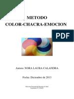Metodo Chacra Color Emocion