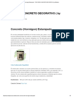 Concreto (Hormigon) Estampado - TODO PARA CONCRETO DECORATIVO ( by Boldster).pdf