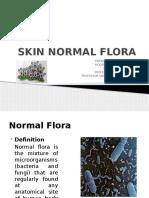 Skin Normal Flora