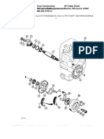 Allison Transmission%2c Axle Output Shaft and Parking Brake
