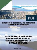 01 Coaching y Liderazgo Empresarial Para El Sector Turismo de La Ciudad de Puno