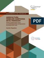 Agricultura Familiar Campesina en El Paraguay - Quintin Riquelme - Cadep - Portalguarani