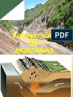 14.- Formacion de Montañas