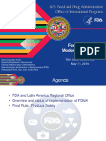 Implementation Status Fsma Final Rule Produce Safety