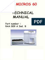 Horiba ABX Micros 60 - Technical Manual 2.en.es