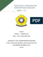 Pengantar Ilmu Administrasi Negara