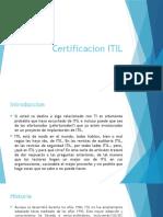 Certificacion ITIL