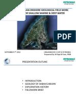 CCOP 2012 Labuan Fieldwork Briefing Materials