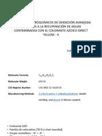 Metodos Avanzados de Oxidacion Electroquimica