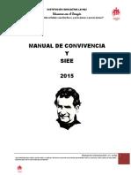 Manual de Convivencia y Siee 140915