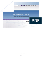 DLS Check in the OMC-R