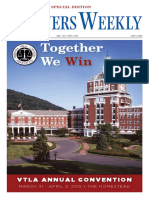 2016 Virginia Trial Lawyers Association Annual Convention