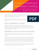 Prosper's Investors Guide to Marketplace Lending