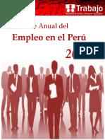 Informe Anual Empleo Enaho 2014