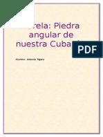 Varela Piedra Fundacional de La Nacionalidad Cubana