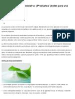 QSI - Química Suiza Industrial _ Productos Verdes Para Una Cosmética Ecológica