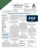 Boletin Oficial 20-05-10 - Segunda Seccion