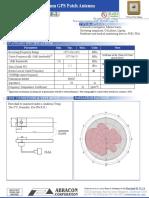 Data Antena Gps APAE1575R1540AZDB2F-T