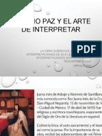 Octavio Paz y El Arte de Interpretar