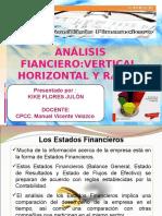 Analisis EEFF Vertical, Horizontal y Según Ratios KIKE