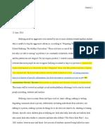 defense paper feedback