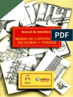 Manual de Albañilería - Muros de Contención, Escaleras y Veredas