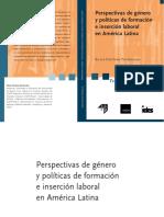 Perspectivas Genero Politicas Formacion Insercion Laboral AL