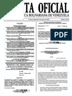 Sumario Gaceta Oficial 39.427