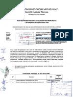 Acta de Presentacion y Evaluacion de Propuestas Consurso Privado n02