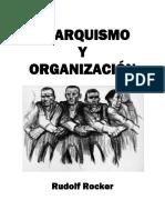 Anarquismo y Organización, Rudolf Rocker